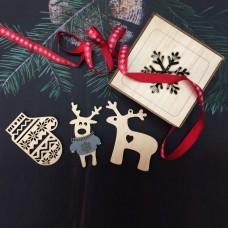 Набор ёлочных украшений в подарочной коробке