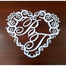 """Свадебный герб """"Сердце 2"""""""