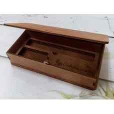 Шкатулка подарочная для ручки и флэш карты