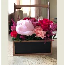 Ящик для цветов меловой