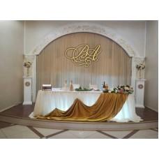 Монограмма свадебная