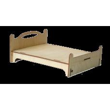 Кроватка для кукольного домика