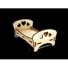 Кроватка для кукольного домика №2