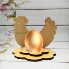 Подставка под яйцо в виде курочки