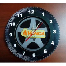 "Часы ""4 колеса"""