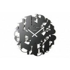 Часы цифры-абстракция