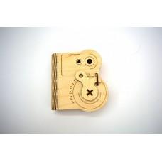 Шкатулка-книга с механизмом