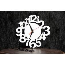 Часы с большими цифрами